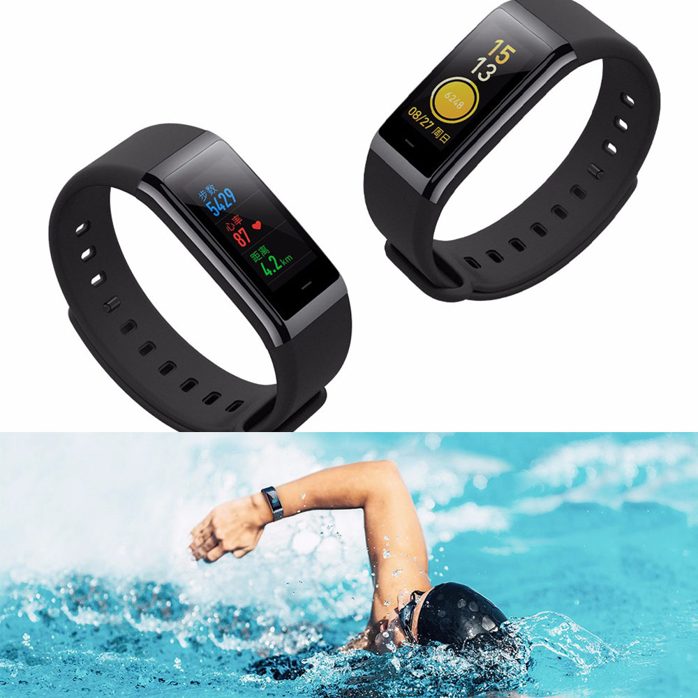 Original Huami Amazfit Cor Smart Bracelet MiDong band English Version Waterproof IPS 316L Stainless Steel Frame For Android IOS-12