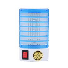 220V 110V LED Electric Indoor Mosquito Killer Lamp Mosquito Pest Repellent Bug Insect Killer Trap Night Lamp Zapper(Hong Kong)