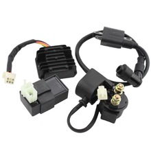 GOOFIT Ignition Coil CDI Regulator Rectifier Relay Kit for 150 200 250 Cc Chinese ATV Group-90(China)