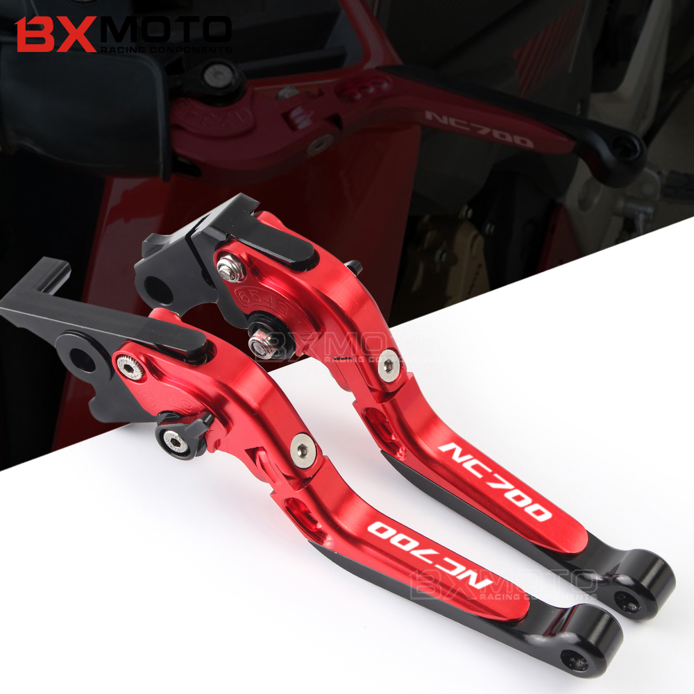 with Logo NC700 Motorcycle CNC Adjustable Extendable Brake Clutch Levers For Honda NC700S NC700X NC700 S X 2012 2013<br>