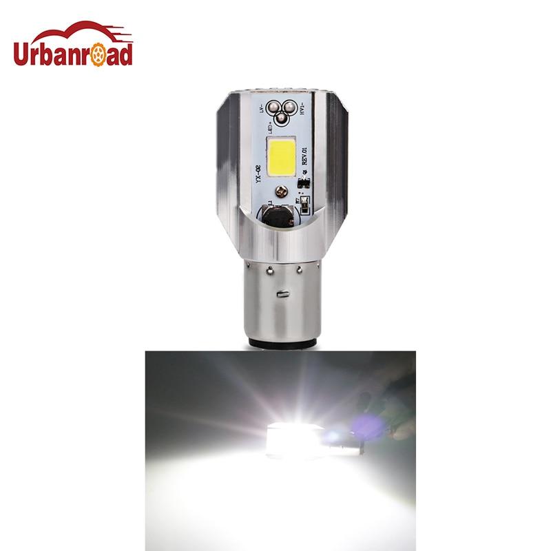 H4 16W 1700LM 6000K LED Motorcycle Headlight High//Low Beam Front Light Bulb 12V