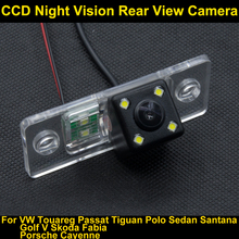For Porsche Cayenne 2008 2009 2010 2011 2012 car VW Passat B5 Polo Touareg Night Vision Rear View Backup Reverse Parking Camera(China)