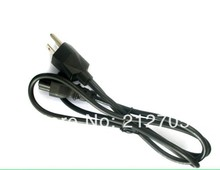 Free shipping 3 Prong AC Mickey Black Mouse Clover Style Power Cord Cable For Laptop Notebook Ac Adapter USA