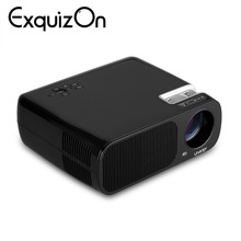 U20 Pro Projector 800*480 USB/HDMI/DTV/AV/VGA Bluetooth WiFi Android 4.4.2 ROM RAM 1G+8G Home Theater LED LCD projector(China)