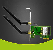 PCI-e PCI Express 150M Wireless WiFi Card Adapter 2 Antennas Support AP Function(China)