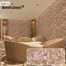 Beshubao Bedding Room Liquid Wallpapers Silk Plaster Classic 3D Mural Wallpapers Pure Color Wall Paper Coating Art  Sticker