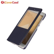 For Xiaomi Redmi Note 4 Case Flip Leather Wallet Phone Accessory Window View Cover for Xiaomi Redmi Note 4 4X Coque Hoesjes Etui