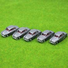 NEW  5PCS Model Cars Gary 1:100 TT HO Scale for Building Railway Train Scenery C10009  railway modeling