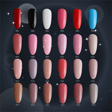 #001024 m.ladea 6.5ML 168 colors Nail gel Polish UV Led Long Lasting Nail Gel Polish DIY Nail Art Gel(China)