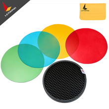2PCS Godox AD-S11 Color Filter Honeycomb Grid Cover Kit for WITSTR AD180 AD360 Flash(China)