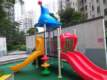Vanke Residential Area Outdoor Playground Equipment Highest Cost-performance Kids Play Slide Safe Children Outdoor Big Toy
