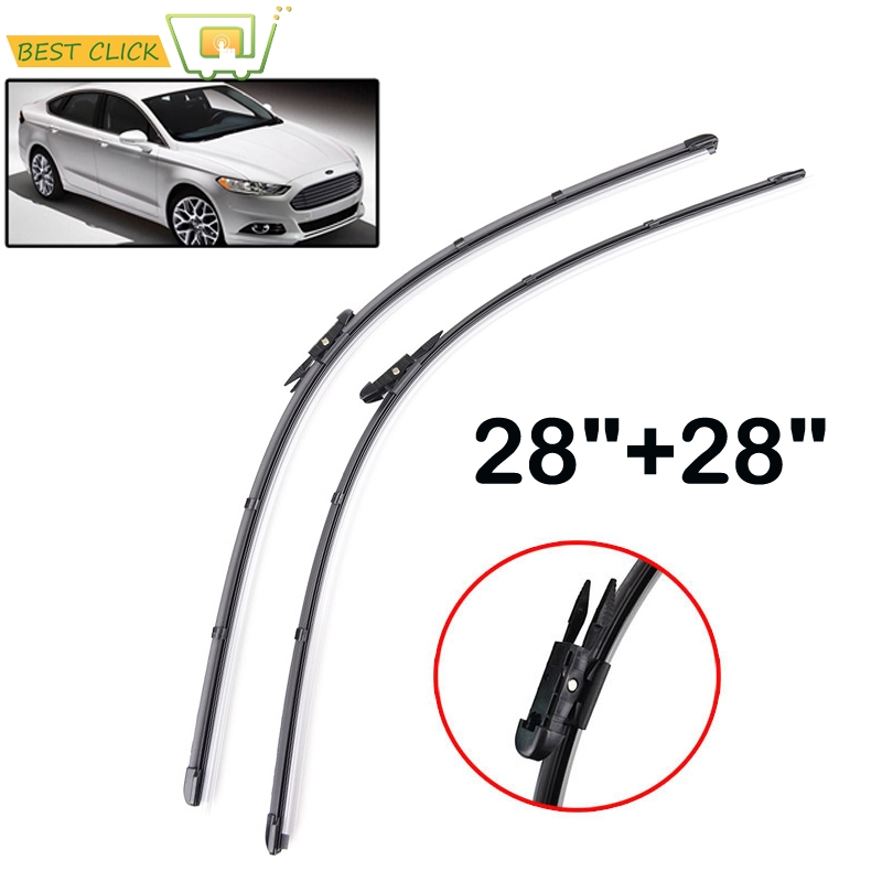 "Misima Windshield Windscreen Wiper Blades For Ford Mondeo 5 Front Window Wiper For Ford Fusion 2014 2015 2016 2017 28""+ 28""(China)"