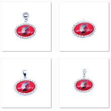 Pendant Charms Rhinestone Portland Trail Blazers Charms Basketball Sports Dangle Charms for Women Men Diy Jewelry Fashion 2017