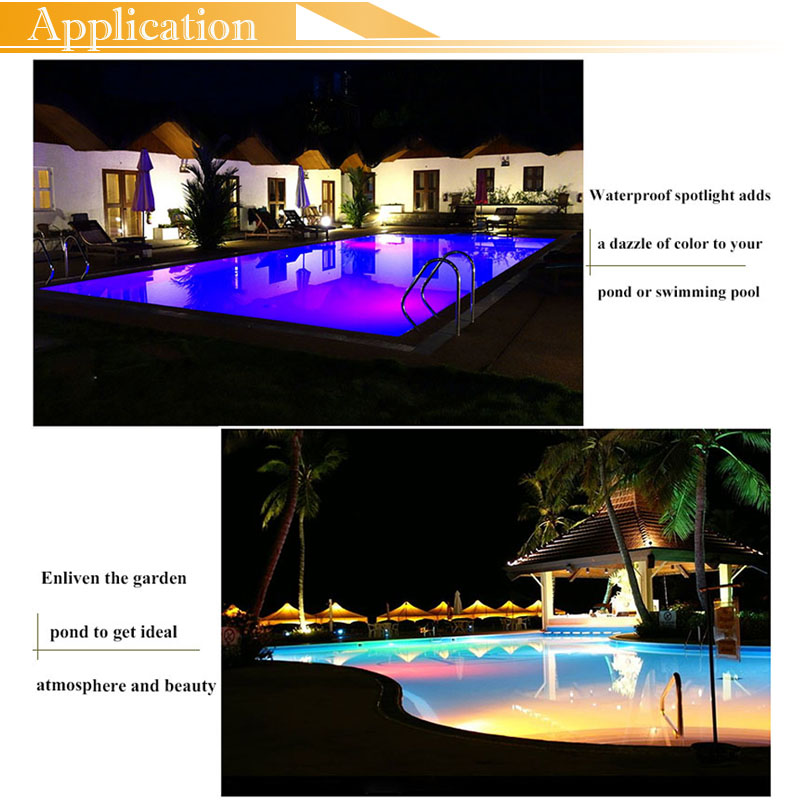 LED POOL LIGHT FOR FOUNTAIN