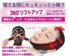 Hot sale 1 piece slimming face belt slim face mask Shaping Cheek Scalp 3D Chin Uplift Sharp(China)