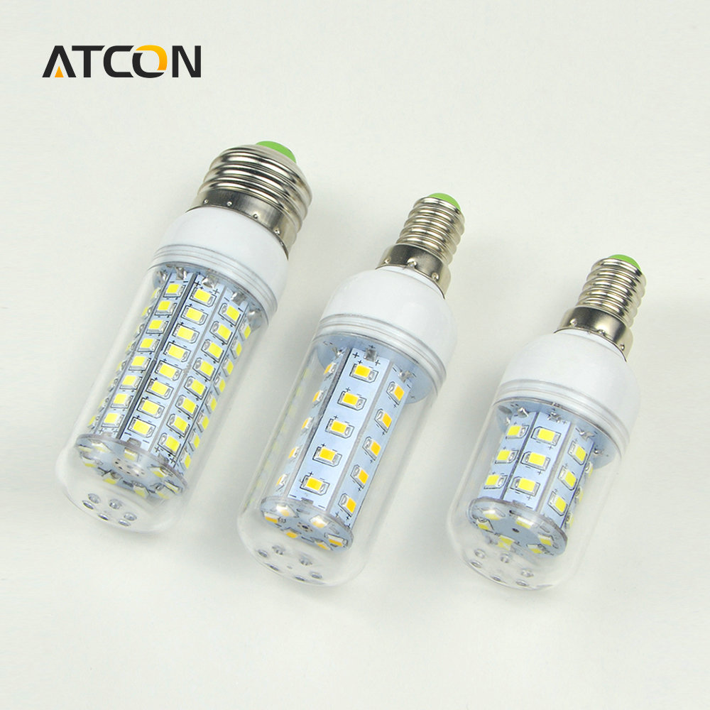 1X 30 36 48 56 69 89 102LEDs E14 E27 220V LED Corn light Bulb Replace Compact Fluorescent lamp CFL (7W 12W 15W 20W 25W 30W 35W)(China)