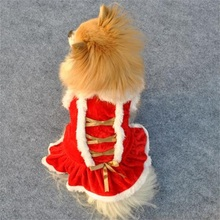 Dog Christmas Clothes Santa Doggy Costumes Dog Clothing Pet Apparel Ropa Mascotas Clothes for Dogs Christmas Gift for Pet