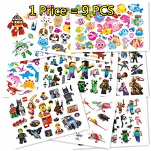 Buy SHNAPIGN 9 pcs/lot Dinosaur robot Temporary Body Arts, Flash Tattoo Stickers 17*10cm, Waterproof Children Loves Toy Stickers for $5.66 in AliExpress store