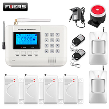 Fuers 101 Zones PSTN Wireless Voice Prompt DIY Home House Alarm Security System Auto Dialer Spanish/Russian/English Voice Alarm