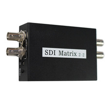 SDI Matrix 2x2 switcher SDI/HD-SDI/3G-SDI Seamless Switcher Converter Digital Video Signal Switch to High Defination Display