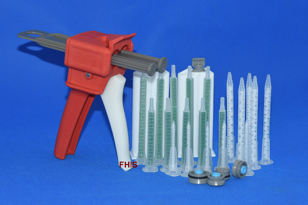 50ML 1: 1 2: 1 AB glue gun &amp; mixing tube MA3.0-17<br>