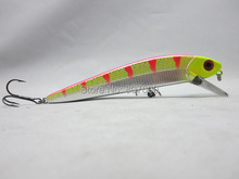Fishing Big Game Lure Giant Flatstick 16 MUSKY PIKE Lures 16cm/49g(China)