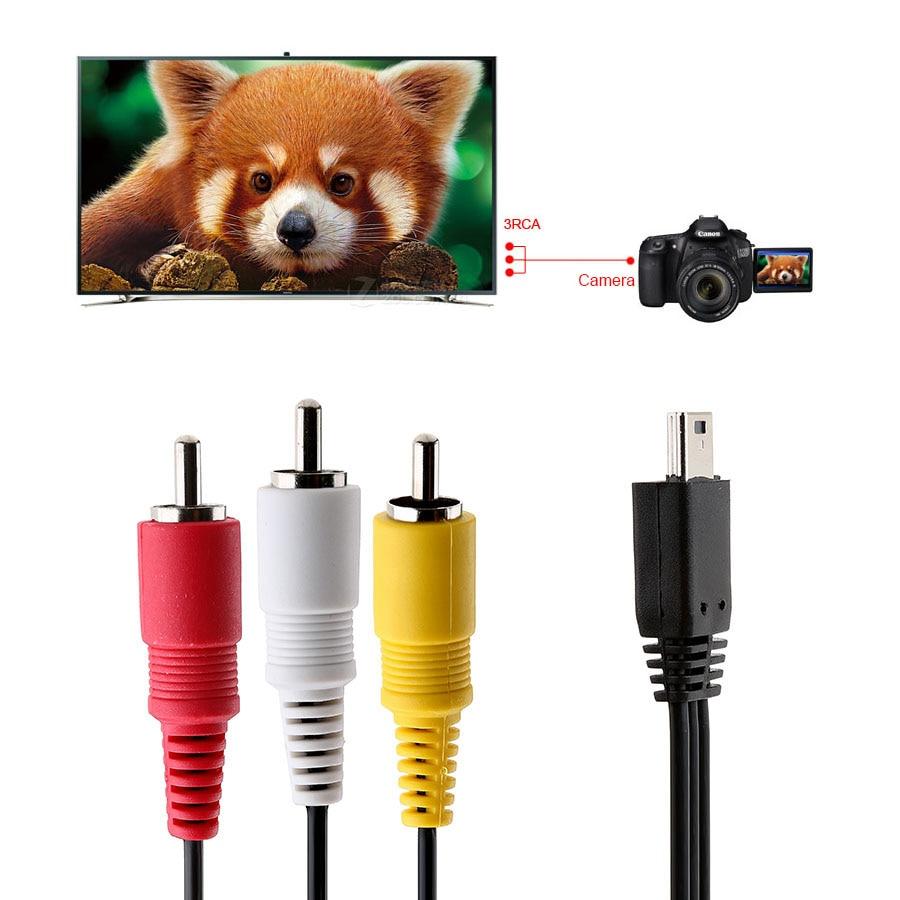 AV Audio Video for Kodak AV-5 Cable Playsport ZX3