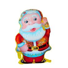 Standing Santa Claus Foil Balloon Lovely Printed Christmas Mylar Balloon Birthday/Party/Wedding Celebration Decoration Balloons