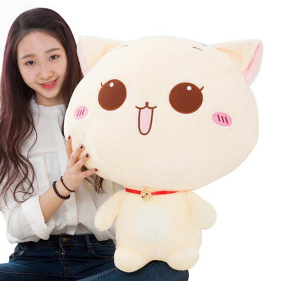 Stuffed Plush Cats Toys Stuffed Animals Soft Toys For Girls Valentine Gifts For Kids Cartoon Kawaii Cat Plush Doll Gifts 70C0534<br>