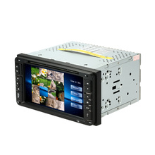"6.95"" Double 2 Din Car DVD player In Dash Car PC Stereo Head Unit GPS Navigation Car Autoradio Video/Mutimedia Player for Toyota(China)"