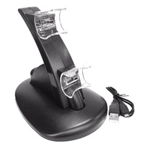 LED Light Dual USB Powered Charging Dock for PS 3 controlleR For Sony PlayStation 3 PS3 Controller  Stand Holder Charger