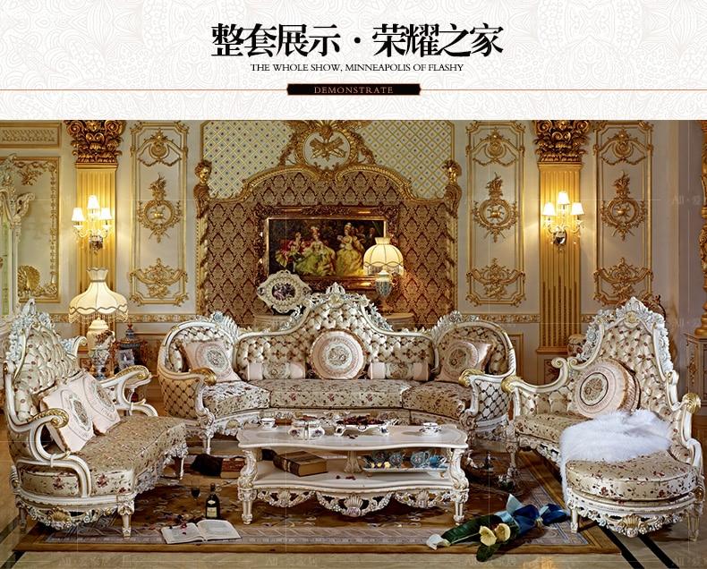 Luxury Living Room Sofa Furniture With Lounge 103China Mainland