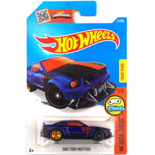 Free Shipping 2016 new Hot Wheels 2005 ford mustang cars Models Metal Diecast Car Collection Kids Toys Vehicle For Children(China)