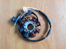 Scooter Moped ATV Go Kart 139QMB GY6 50 60 80 cc  8 pole 4 wire Dual Ignition magneto stator