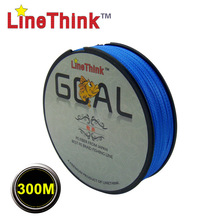 300M Brand LineThink GOAL Japan Multifilament PE Braided Fishing Line 6LB-120LB