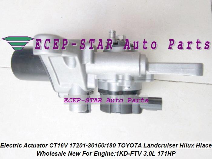 Turbo Electric Solenoid Actuator CT16V 17201-30150 17201 30180 For TOYOTA Hi-lux Landcruiser KZJ90 KZJ95 VIGO 1KD-FTV 3.0L 2.5L (4)