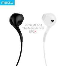 MEIZU Earphone EP2X in Ear with Microphone New Generation 14mm Superfine fiber paper membrane HD Sound Quality Sell on 11.11(China)