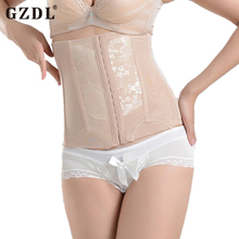 GZDL New Women's Waist Cincher Postpartum Recovery Girdle Tummy Belly Waist Corsets Slimming Support Band Lady Shapewear CR5534(China)