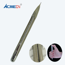 ACME Original Design Unique 0.7mm Mechanical Pencil with Braid barrel High Quality Metal Heavy 38g School Stationery Lead Pencil