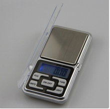 Fashion Hot 500g/0.1g Mini Electronic Digital Pocket Scale Jewelry Weighing Balance Counting Function Blue LCD g/tl/oz/ct(China)