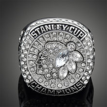 2015 Stanley Cup Finals Chicago Blackhawks Ring Fashion Captain Jonathan Toews Replica Sports Rings Men J02122