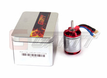 Gleagle`s 1220KV Brushless Motor For 550/600 Align Trex RC Helicopter Red Color Wtih Case