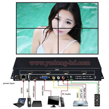 Video Wall Processor TV LCD Monitor Wall Controller Multi Input HDMI Ouput Screen segmentation & reassembly 2x2, 1x2, 1x3, 1x4