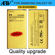 For S5 battery Rechargeable Lion Gold Replacement Battery EB-BG900BBC for Galaxy G9006/S5/i9600/G9008V G9009D/G900F/H/S battery