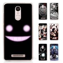 Soul Eater Anime Head Hard Transparent Case Cover for Xiaomi Redmi Mi Note 2 3 3S 4 4C 4A 4S 5 5S Pro Plus