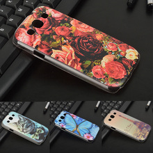 Case For Samsung Galaxy S3 Hard PC Cover For Samsung Galaxy S3 I9300 Neo i9301 Duos i9300i GT-i9308 Patterned Phone Back Cover