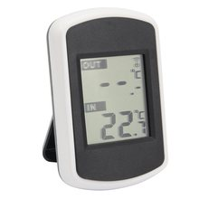 LCD Display Digital Wireless Thermometer Electronic Temperature Meter Weather Station Indoor Outdoor Tester(China)