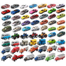 [QuanPaPa] Supercar truck bus metal car mode antique collectible toy cars for sale collection miniatures scale cars models