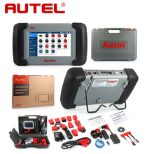 Original autel maxidas ds708 auto screen diagnostic tool diagn stico touch Online update English French Russian German Spanish