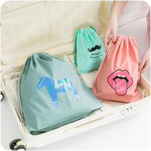 1pc Creative Multi-functional Travel Waterproof Storage Bags Cloth Bag Organizer Bags For Travel Drawstring Bag